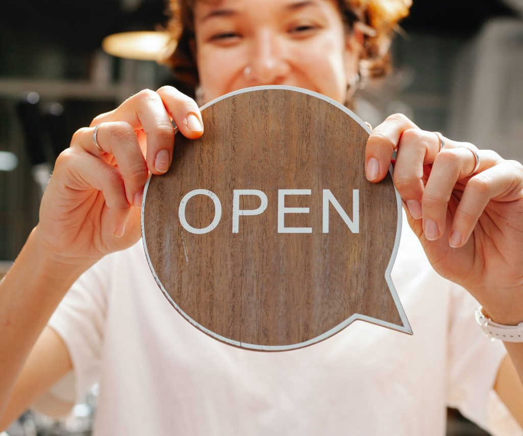 Startup lawyer helping a business owner open